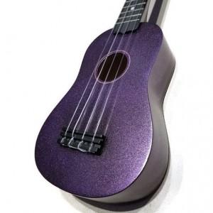 Glitter Ukulele, Painted Sparkle Ukulele, Glitter Ukulele, Decorated Soprano Ukulele, glitalele, ukulele instrument, ukelele, ukalele