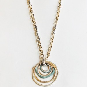 Tri-Color Necklace