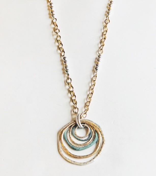 Tri-Color Necklace