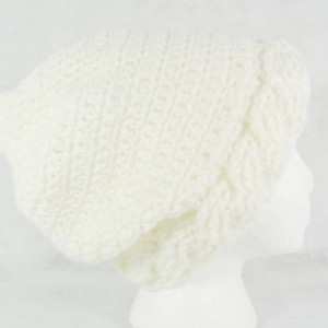 Slouch beanie - white slouch hat - slouchy beanie hat - beanie hat - white beanie hat - slouchy beanie - slouch hat - gift under 50 - gift