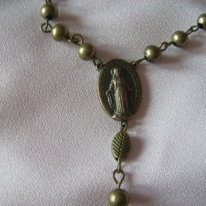 Boys Communion Rosary Beads - Soldier of Prayer