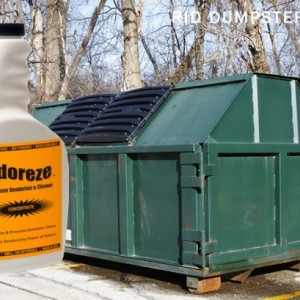 ODOREZE Natural Dumpster & Chute Odor Eliminator: Makes 64 Gallons to Clean Trash Stink