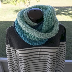 Hand Knitted Cowl or Infinity Scarf