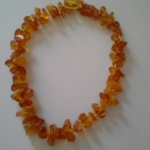 Amber Necklace - Semi-Precious Gemstone