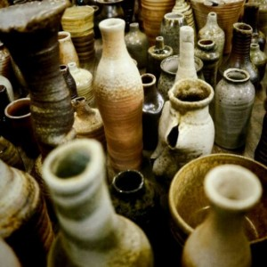 WHOLESALE - Pottery Vases and Bottles- Garden or Gift Shop