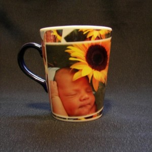 Custom Photo Latte Mosaic Coffee Mug Personalized Gift