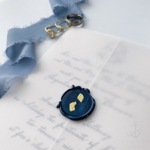 10 Pack: Gold Leaf Wax Seals, Self Adhesive