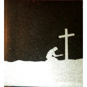 """Prayer at the Cross"" Memorial Plaque"