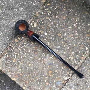 Gothic Churchwarden Tobacco Pipe