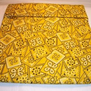 Yellow Bandana Print Microwave Bake Potato Bag,Kitchen,Gifts,Housewarming