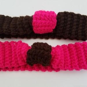 Cinched Crochet Headband