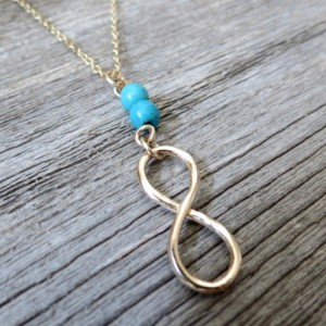 Men's Necklace - Men's Gold Necklace - Men Infinity Necklace - Men's Jewelry - Men's Gift - Boyfriend Gift - Husband Gift - Present For Men