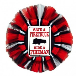 Firefighter Man Cave Wreath