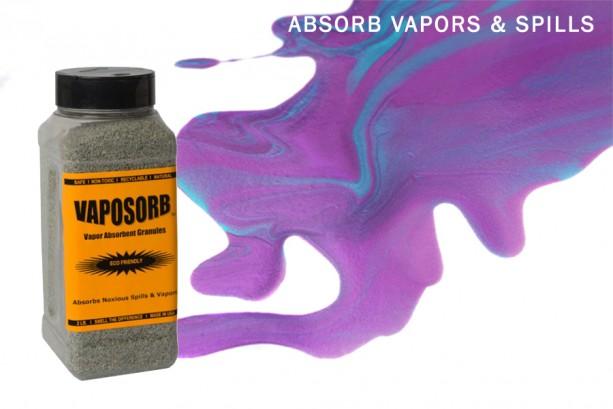 VAPORSORB Natural Fume Remover: 2 lb. Granules Rid Chemical, Solvent & Gasoline Vapors