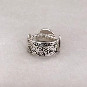 Size 7 1/2 Sea Foam Open Band Ring