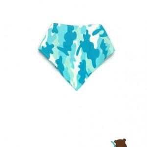 Blue Camouflage Bibdanas-Blue Bibdanas-Camo Bibdanas-Camo Bibs-Bandana Scarf Bib-Baby Bibdana-Baby Bibdana-Hipster Scarf Bib-Baby Scarf