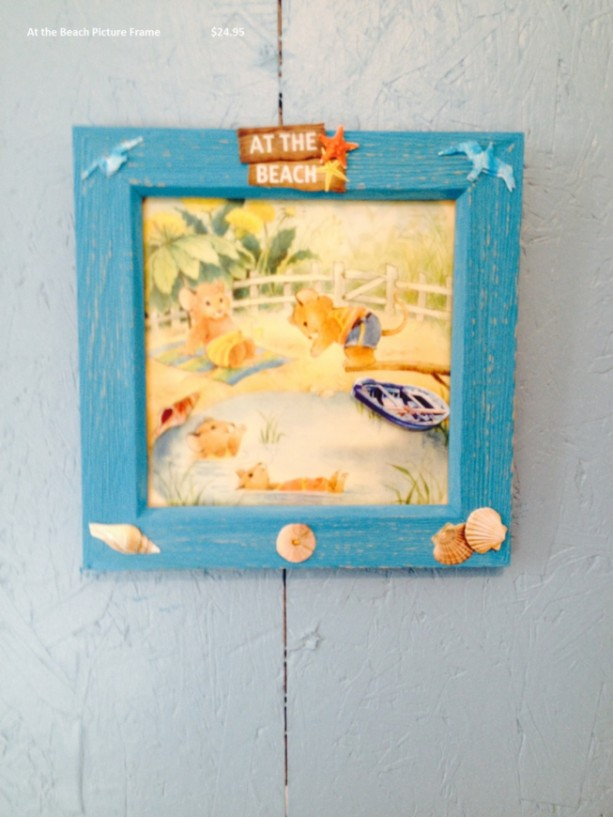 At the Beach Picture Frame