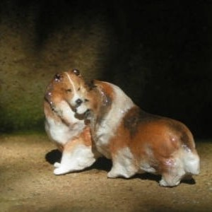 Ron Hevener Collectible Sheltie Lovers From The Hevener Signature Collection