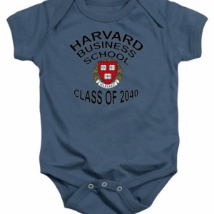 Harvard Business School Class of 2040 Baby One Piece