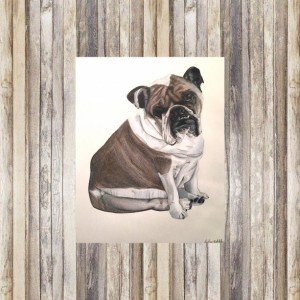 Custom Dog Portrait (2 Pets), Custom Pet Portrait, Dog Portrait, Pet Portrait, Pet Memorial, Dog Memorial, Pet Portrait Custom, Dog Art