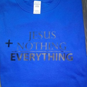 JESUS+NOTHING