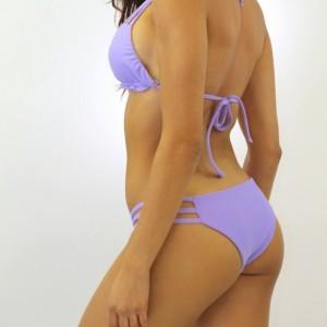Reversible Pastel Tie Dye Strappy Bikini Top