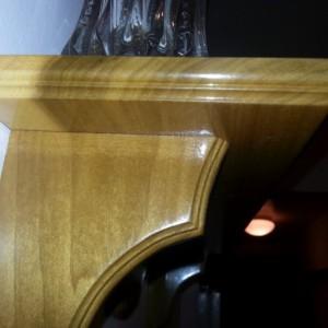 Shelf made of poplar