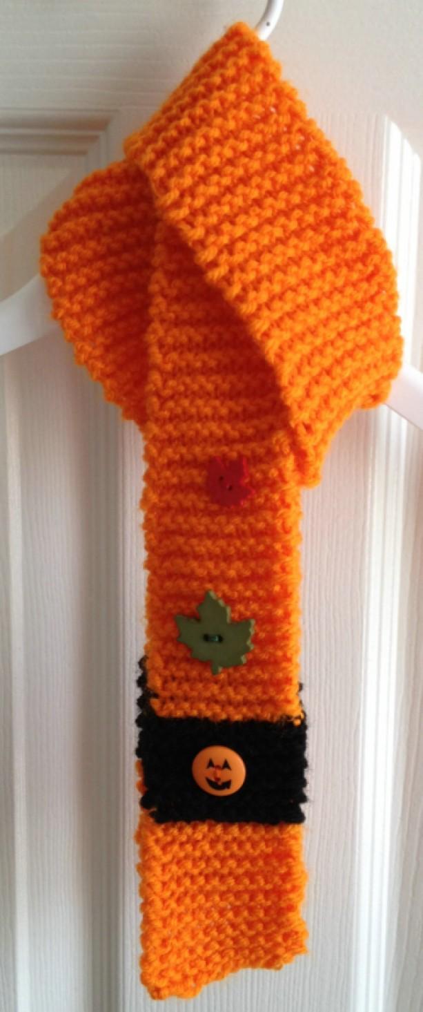 Pumpkin Scarflette