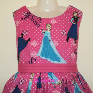 NEW Handmade Disney Princess Palace Pets Royal Cuteness Jumper Dress Custom Sz 12M-14Yrs