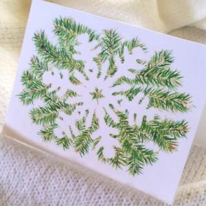 Snowflake series #1