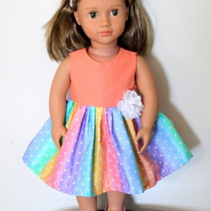 """Doll Clothes 18"""" that fit perfectly 100% cotton"""