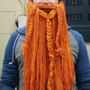Crochet Viking Helmet with Beard