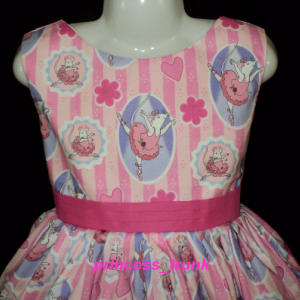 NEW Handmade Chuggington Trains Cute Dress Sz 12M-14Yrs