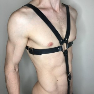 X Harness with C-Ring Strap