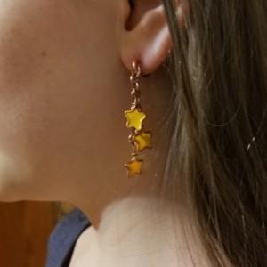 Pierceless Star Cluster Earrings