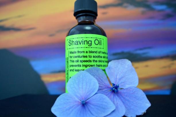 Shaving Oil-Raw & Organic-2 Oz.