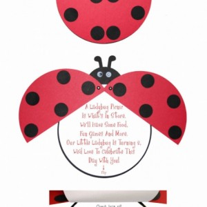 Lady invitations for birthday party or baby shower- (Quantity 20)