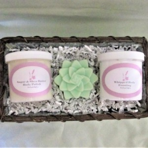 Bath and Body Care 3 Piece Gift Set