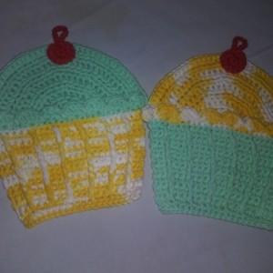 Cupcake washcloths