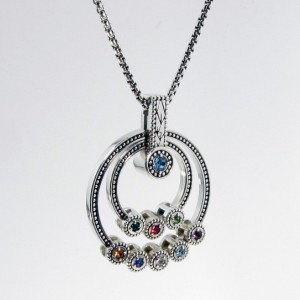 Grandmothers Birthstone Necklace