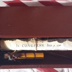 Handmade Mini American Frontiersman w/Accessories Gift Set