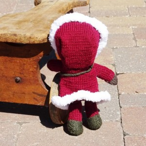 Hand Knitted Doll, Alaskan Doll, Inuit, Eskimo Doll, Doll for Boys, Stuffed Doll, Kids Toy