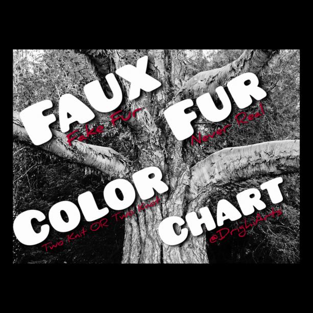 FAUX FUR COLOR CHART!