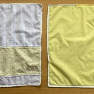 4 Setting Napkin Set - Yellow, White