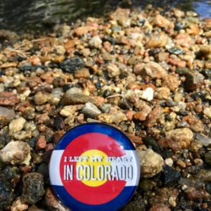 I Left My Heart In Colorado Large Quote Magnet, Colorado Love, Colorado Native, Rocky Mountains, Colorado Flag, Colorado Pride, Colorado