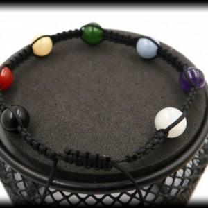 Children and Teens Chakra Balancing Macrame Bracelet