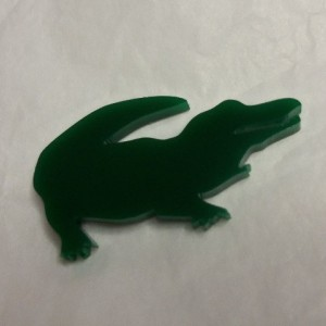 alligator charms,alligators,kawaii,laser cut charms