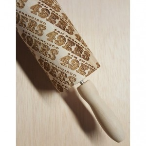Just Roll With It Engraved Rolling Pin
