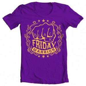 Black Friday Warrior Girls' Tee