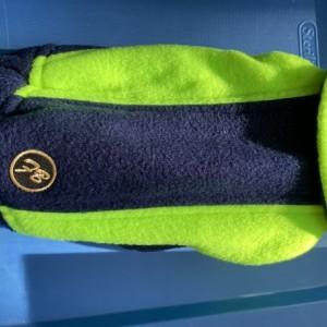 "Blue/Green Jacket XXS 13-14"" girth"
